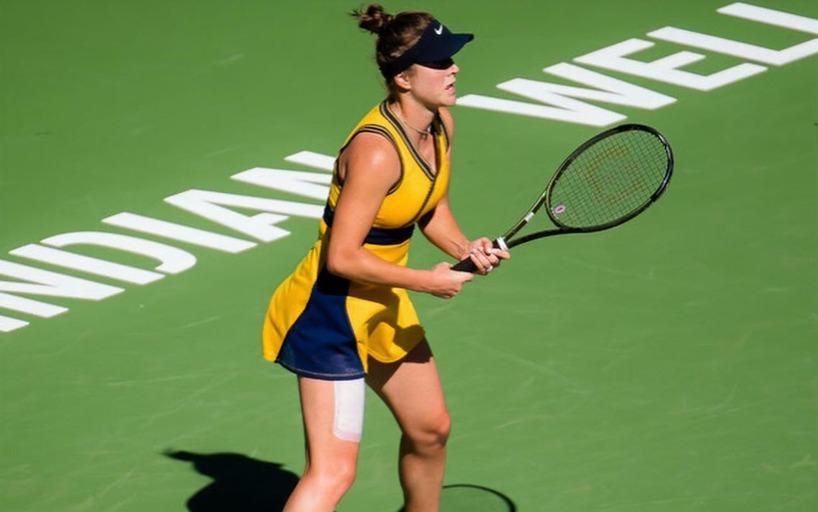 Элина Свитолина: Большое чудо, что я смогла сыграть пару матчей в Индиан-Уэллсе
