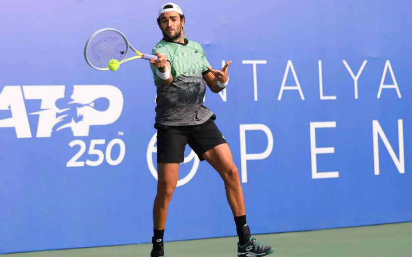 Antalya Open. Маттео Берретини сыграет в четвертьфинале