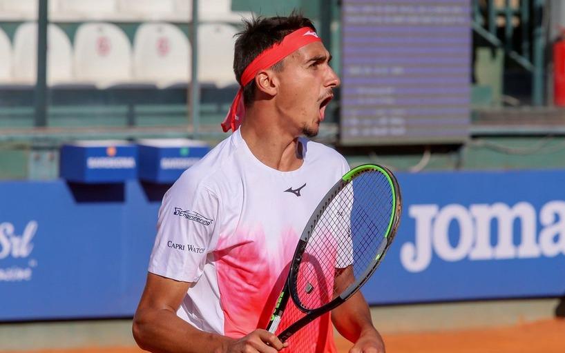 Лоренцо Сонего вышел в полуфинал турнира в Кальяри
