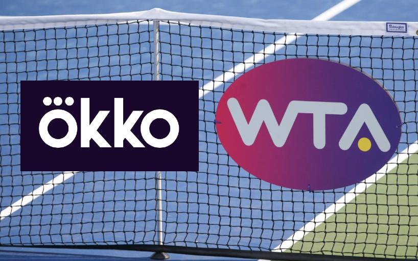 Okko будет эксклюзивно показывать турниры WTA в России