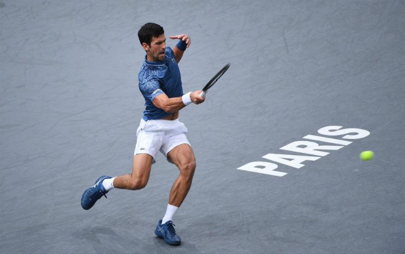 Джокович вышел вполуфинал теннисного «Мастерса» встолице франции