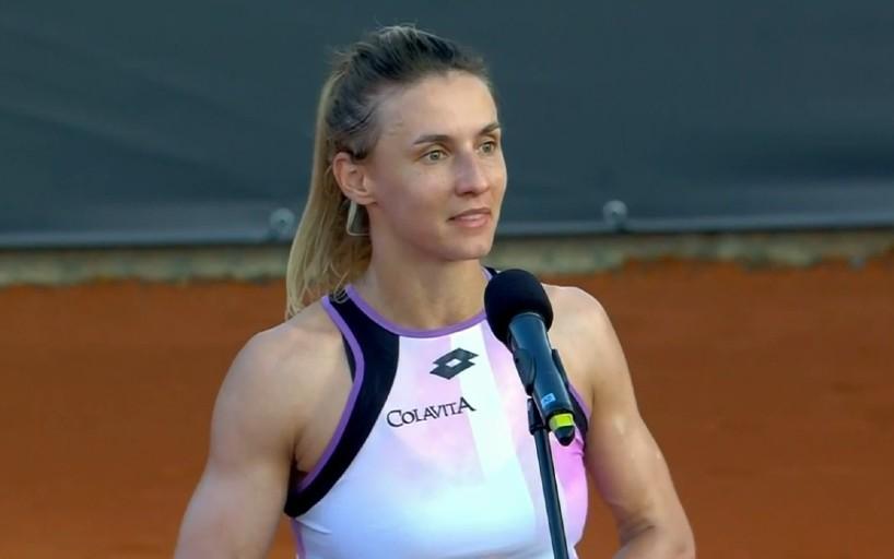 Леся Цуренко: Хорошо, что на старте мне досталась такая трудная соперница