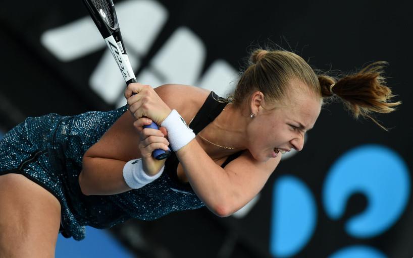 Анна Блинкова пробилась в третий круг турнира в Риме