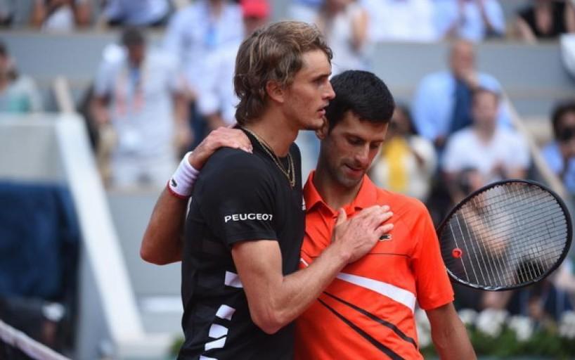 Новак Джокович - Звереву: Желаю тебе успеха, но только до четвертьфинала