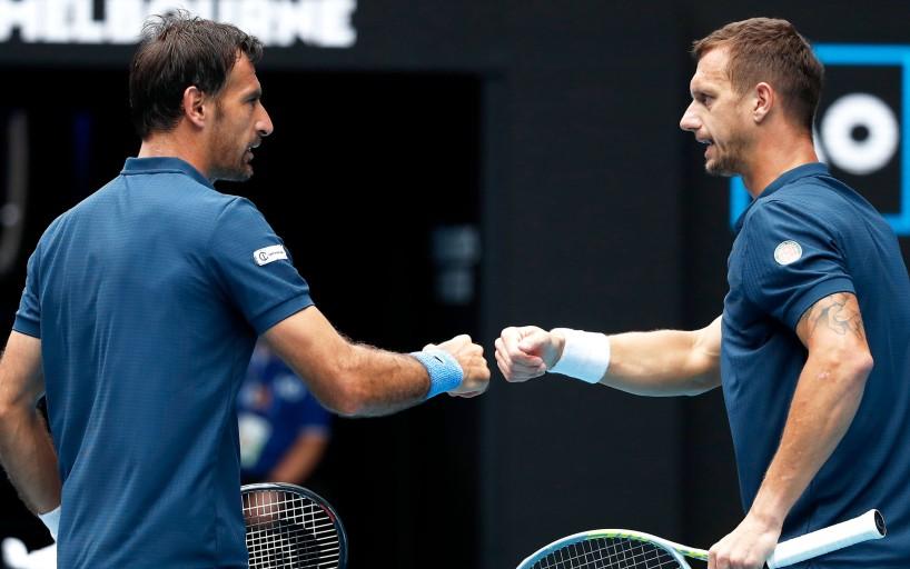 Иван Додиг и Филип Полашек выиграли парный Australian Open