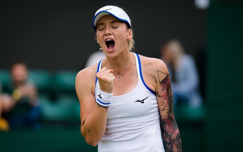 Тереза Мартинцова вышла в полуфинал турнира в Праге