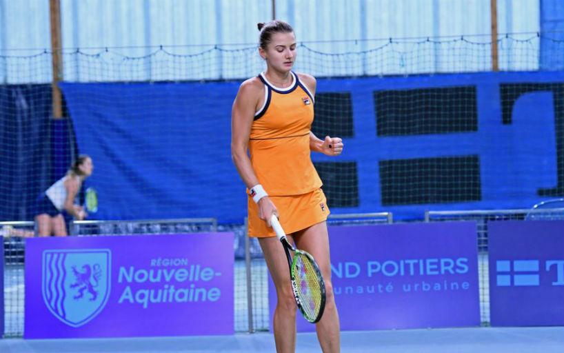 Варвара Флинк проиграла на старте квалификации турнира в Чарльстоне