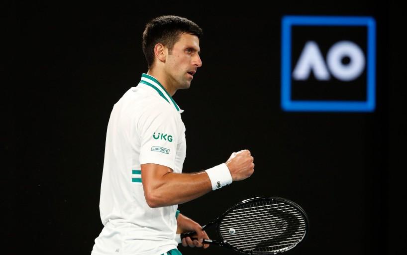 Новак Джокович увеличил отрыв в финале Australian Open