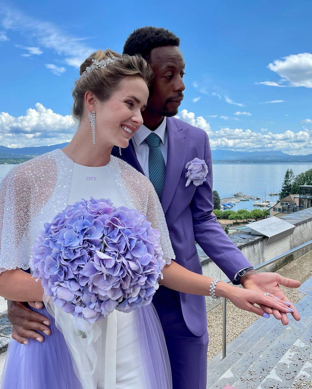 elina svitolina and gael monfils wedding