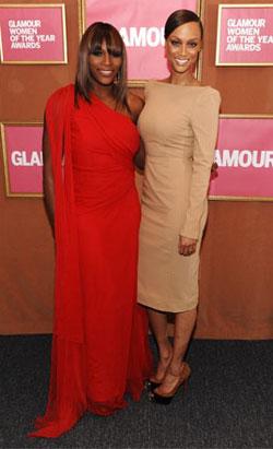 Серена и Тайра Бэнкс. Фото: Getty Images