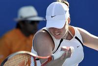 Фото: AFP/Getty Images. Алиса Клейбанова не смогла обыграть Винус Уильямс