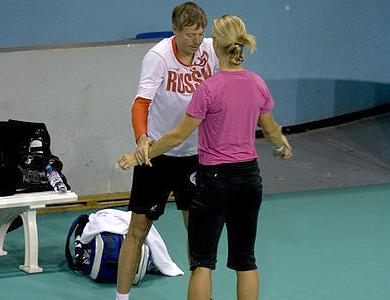 Фото: marineandrieux.blogspot.com. Андрей Ольховский и Елена Дементьева
