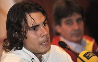 Фото: Getty Images. Рафаэль Надаль во время пресс-конференции в понедельник 10 ноября