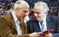 Фото: www.fedcup.com. Президент Сербии Борис Тадич (слева)